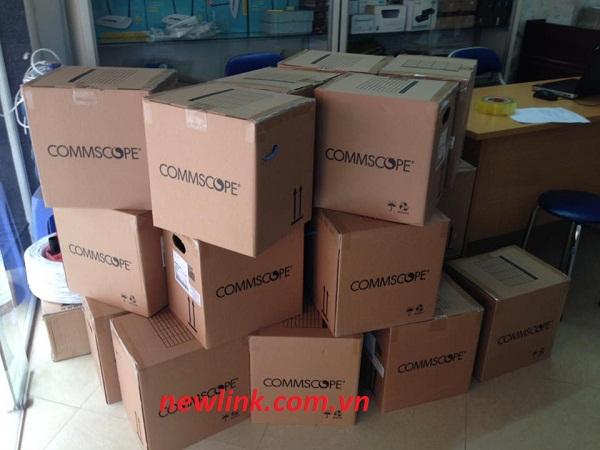 Phân biệt Cáp mạng Commscope Cat5, Cat6, Cat6A, UTP, FTP Chính hãng