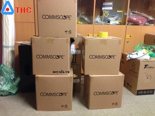 Dây,Cáp mạng Commscope Cat6 UTP, 4 đôi, 8 lõi đồng